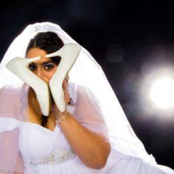Brautkleid Fotoshooting