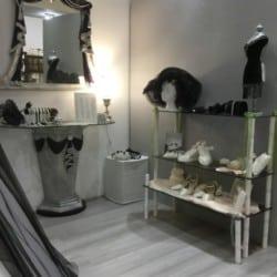 Brautaccessoires und Spiegel