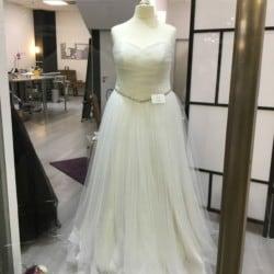 Brautkleid in Ivory Größe 46