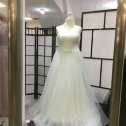 Brautkleid in Ivory Größe 48/50